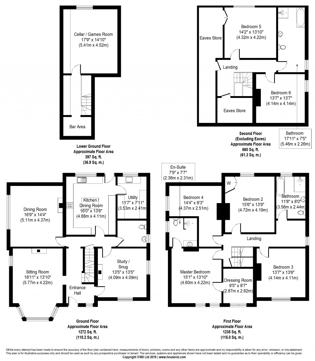 Floorplans For Skipton Road, Steeton